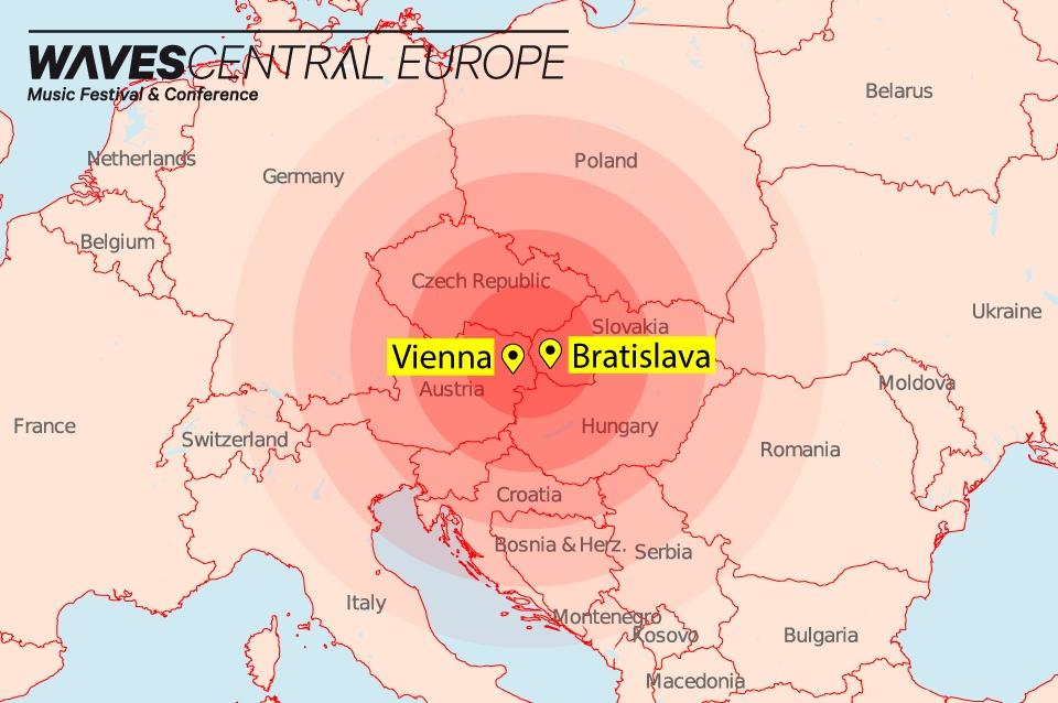 Festivaly Waves v Bratislave a Viedni spojí Waves Central Europe