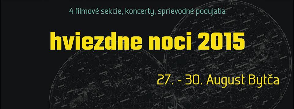 Filmový festival Hviezdne noci 2015