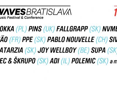 Tretí ročník showcaseového festivalu Waves Bratislava je už za dverami