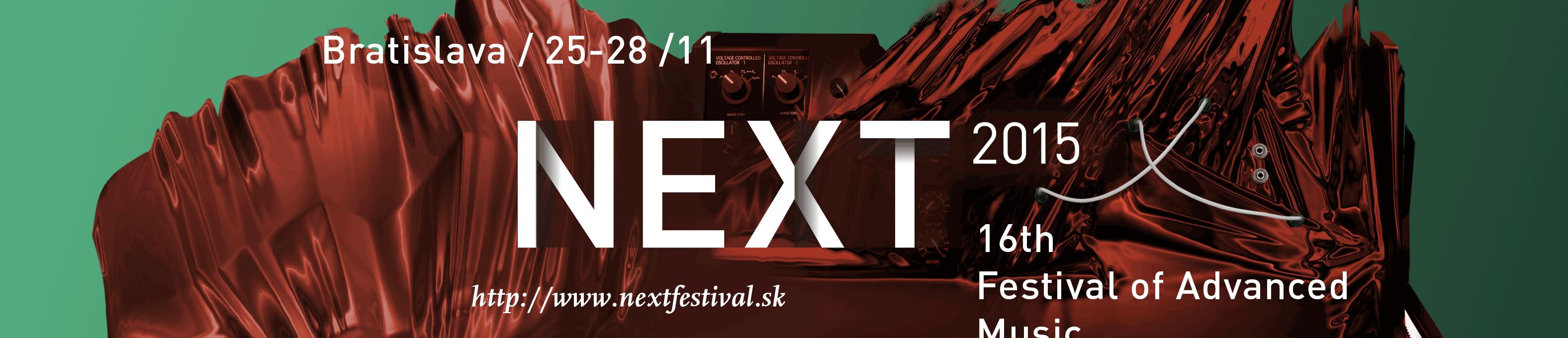 Festival Next príde opäť s tým najlepším zo súčasnej experimentálnej hudby