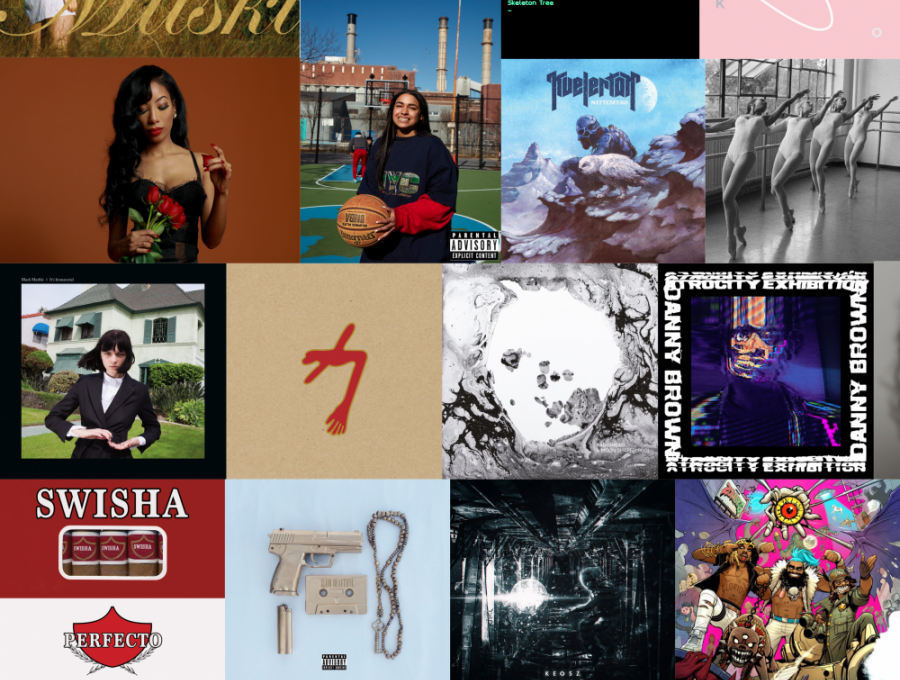 Najlepšie albumy a EP roku 2016 podľa Swine Daily