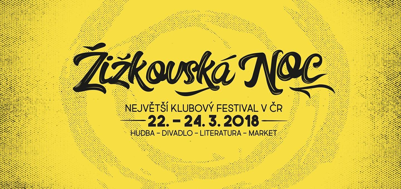 Žižkovská Noc ponúkne showcase českej a slovenskej scény a vyše 500 umelcov