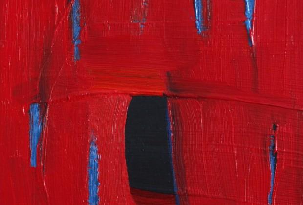 """Pozývame na výstavu Lucie Oleňovej """"Nekonečná modrá / Infinite Blue"""" vo Flatgallery"""