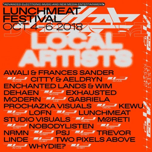 LUNCHMEAT 2018 Local Artists