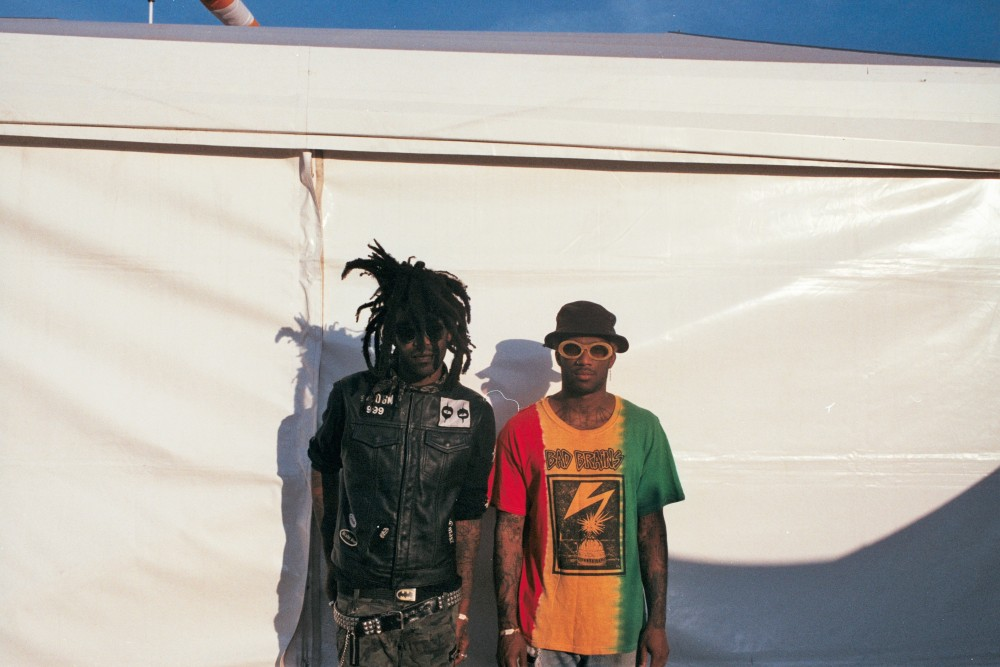 "Los Angeles-based hardcore-rap duo Ho99o9: ""Favourite musician? Probably me."""