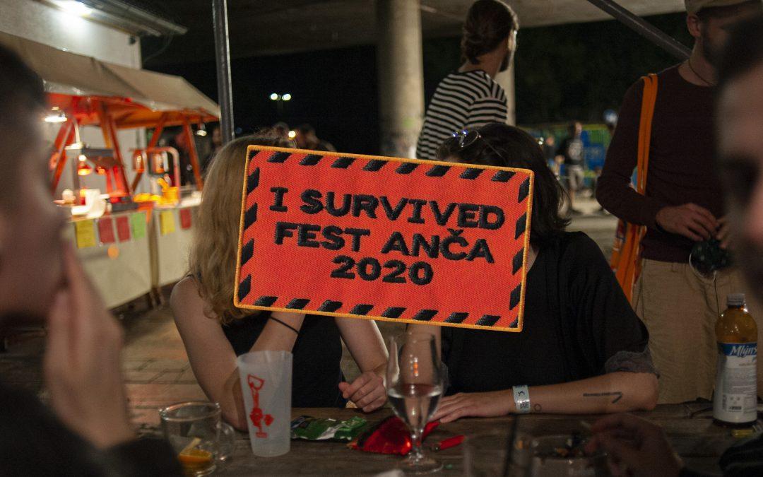 Pozrite si fotoreport z pandemického vydania Fest Anče 2020