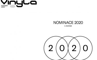 Hudobné ocenenie VINYLA zverejnilo nominácie za rok 2020